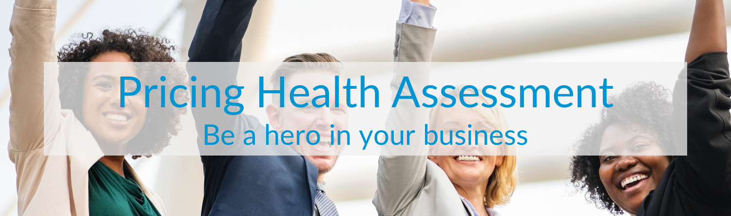 Pricing Health Assessment Banner