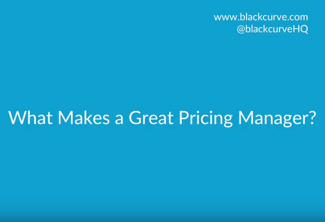 What Makes a Great Pricing Manager