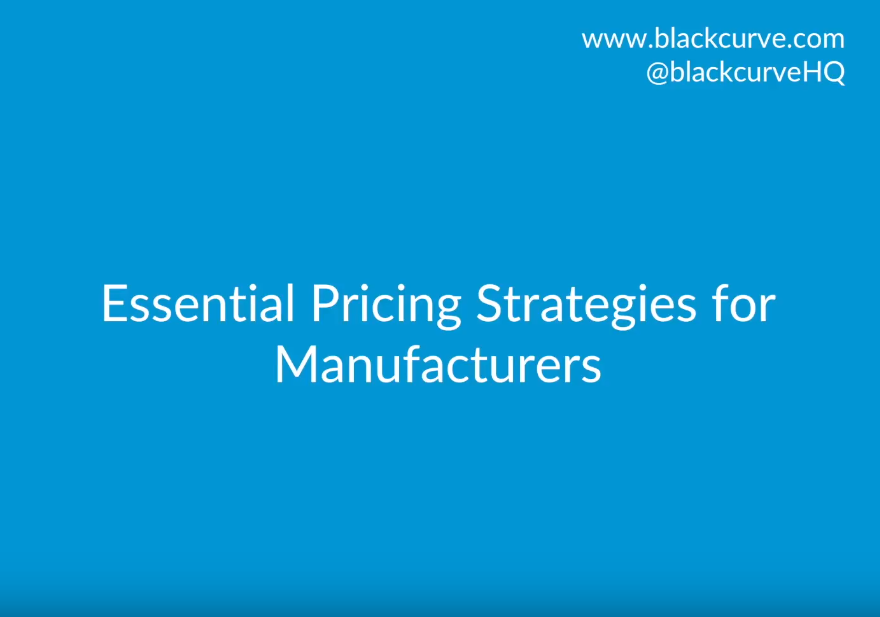Essential Pricing Strategies for Manufacturers
