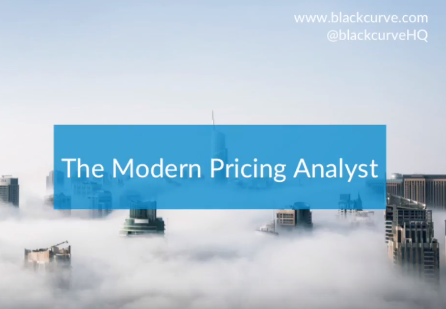 The Modern Pricing Analyst