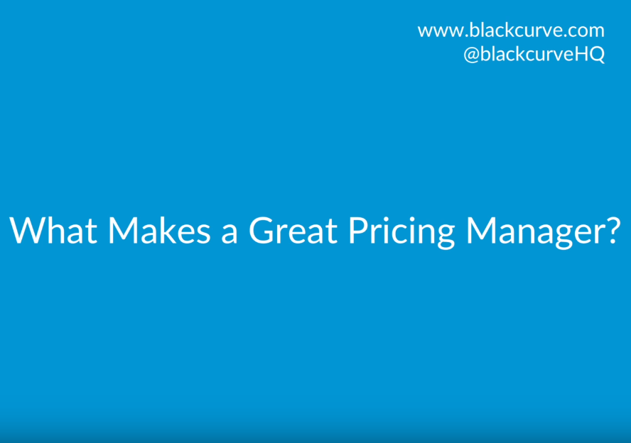 What Makes a Great Pricing Manager?